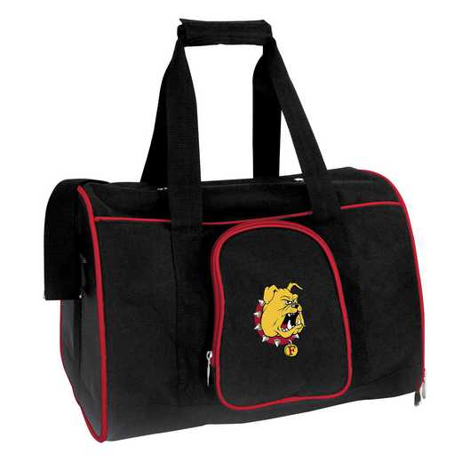 CLFEL901: NCAA Ferris State Bulldogs Pet Carrier Premium 16in bag