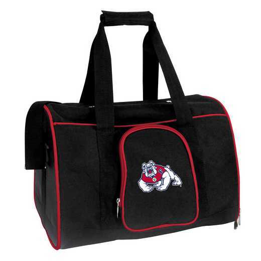 CLFRL901: NCAA Fresno State Bulldogs Pet Carrier Premium 16in bag