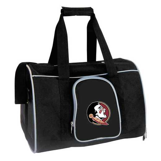 CLFSL901: NCAA Florida State Seminoles Pet Carrier Premium 16in bag