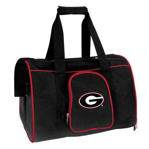 CLGAL901: NCAA Georgia Bulldogs Pet Carrier Premium 16in bag