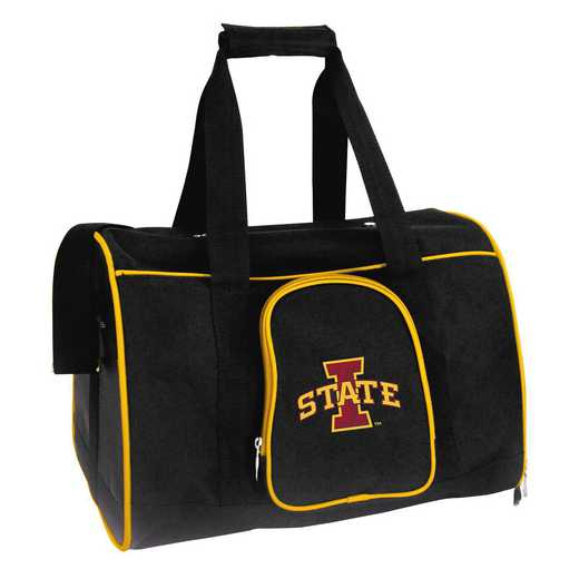 CLISL901: NCAA Iowa State Cyclones Pet Carrier Premium 16in bag
