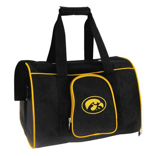 CLIWL901: NCAA Iowa Hawkeyes Pet Carrier Premium 16in bag
