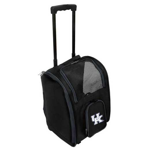 CLKYL902: NCAA Kentucky Wildcats Pet Carrier Premium bag W/ wheels