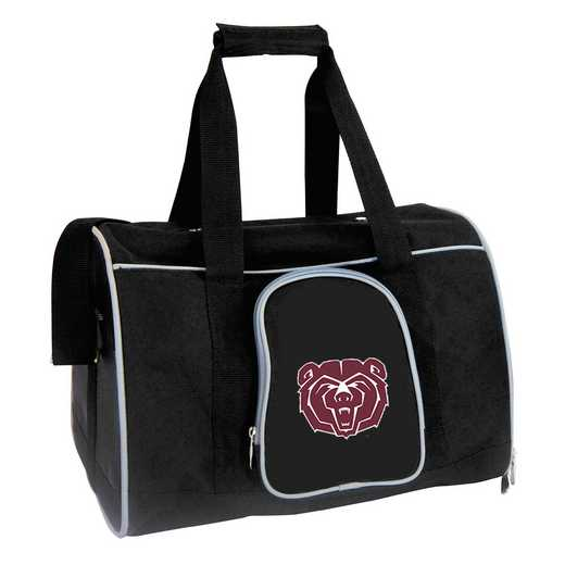 CLMBL901: NCAA Missouri St Univ Bears Pet Carrier Premium 16in bag