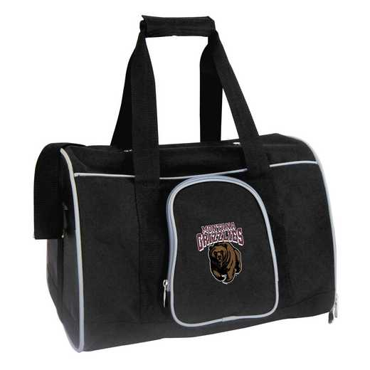 CLMGL901: NCAA Montana Grizzlies Pet Carrier Premium 16in bag
