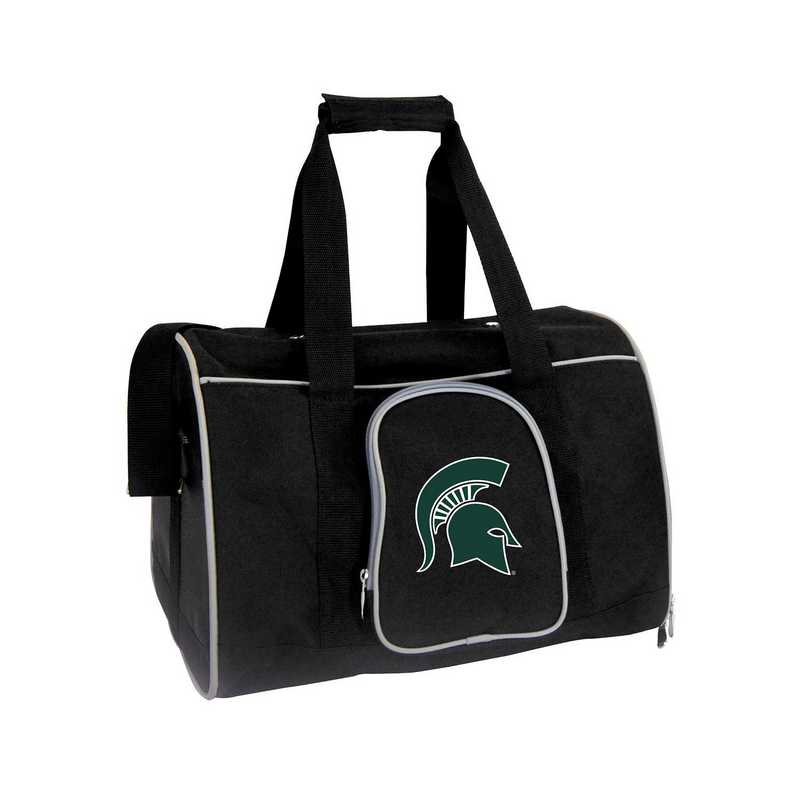 CLMSL901: NCAA Michigan State Spartans Pet Carrier Premium 16in bag