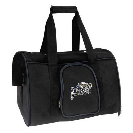 CLNVL901: NCAA Navy Midshipmen Pet Carrier Premium 16in bag
