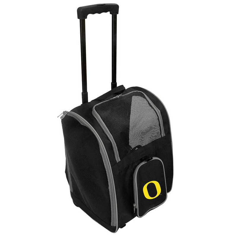 CLODL902: NCAA Oregon Ducks Pet Carrier Premium bag W/ wheels