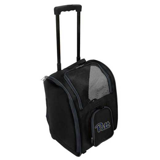CLPIL902: NCAA Pittsburgh Panthers Pet Carrier Premium bag W/ wheels