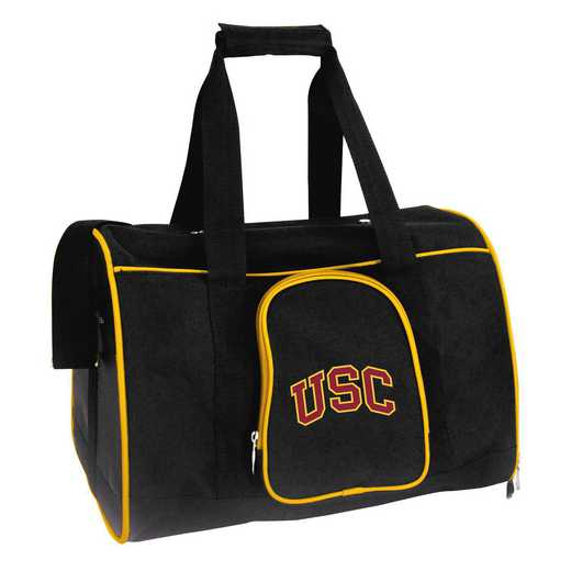 CLSCL901: NCAA Southern Cal Trojans Pet Carrier Premium 16in bag