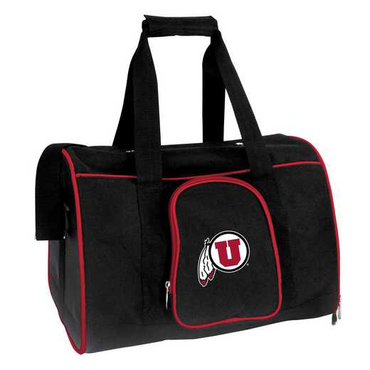 CLUTL901: NCAA Utah Utes Pet Carrier Premium 16in bag