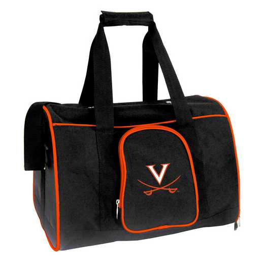 CLVIL901: NCAA Virginia Cavaliers Pet Carrier Premium 16in bag