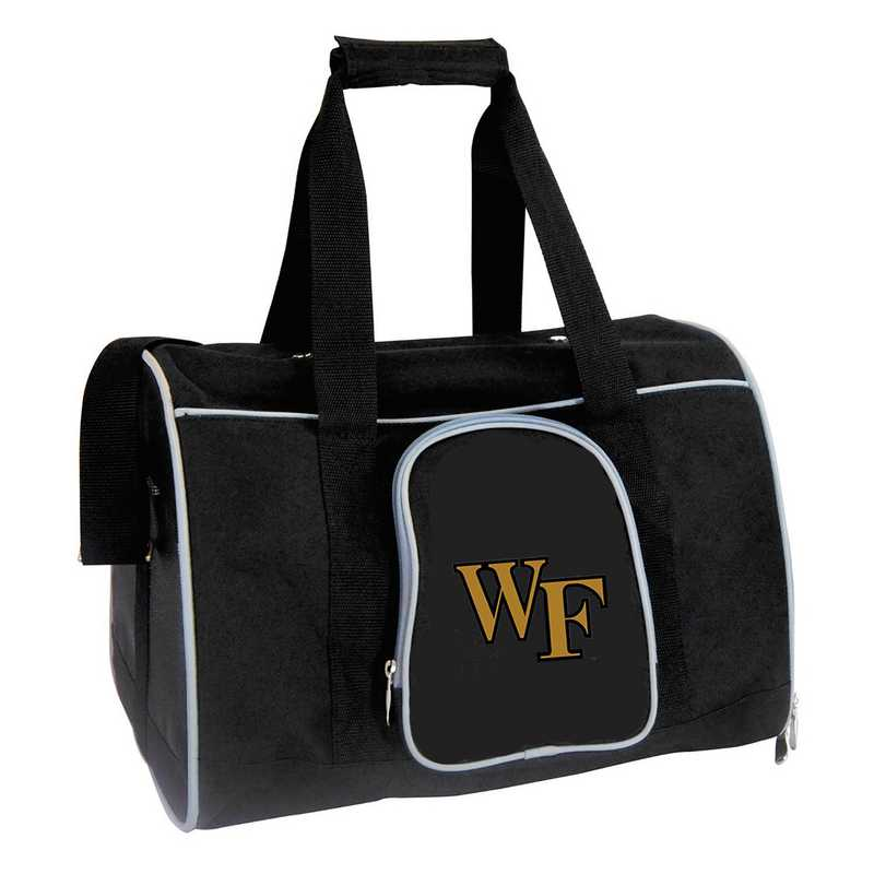 CLWFL901: NCAA Wake Forest Demon Deacons Pet Carrier Premium 16in bag