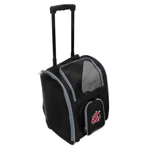 CLWSL902: NCAA Washington ST Cougars Pet Carrier Premium bag W/wheels