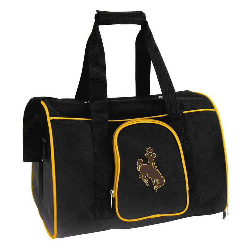 CLWYL901: NCAA Wyoming Cowboys Pet Carrier Premium 16in bag