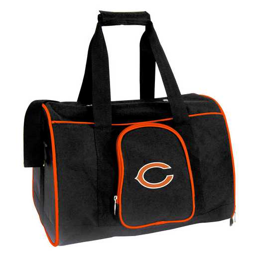 NFCHL901: NFL Chicago Bears Pet Carrier Premium 16in bag