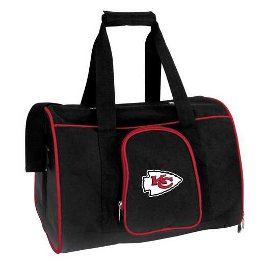 NFKCL901: NFL Kansas City Chiefs Pet Carrier Premium 16in bag