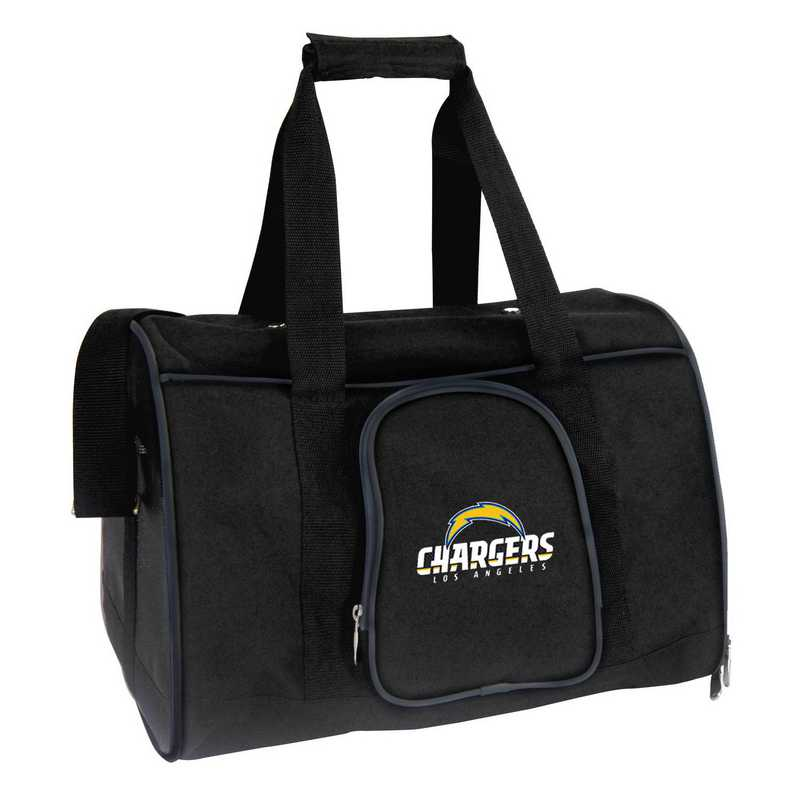 NFLCL901: NFL Los Angeles Chargers  Pet Carrier Premium 16in bag