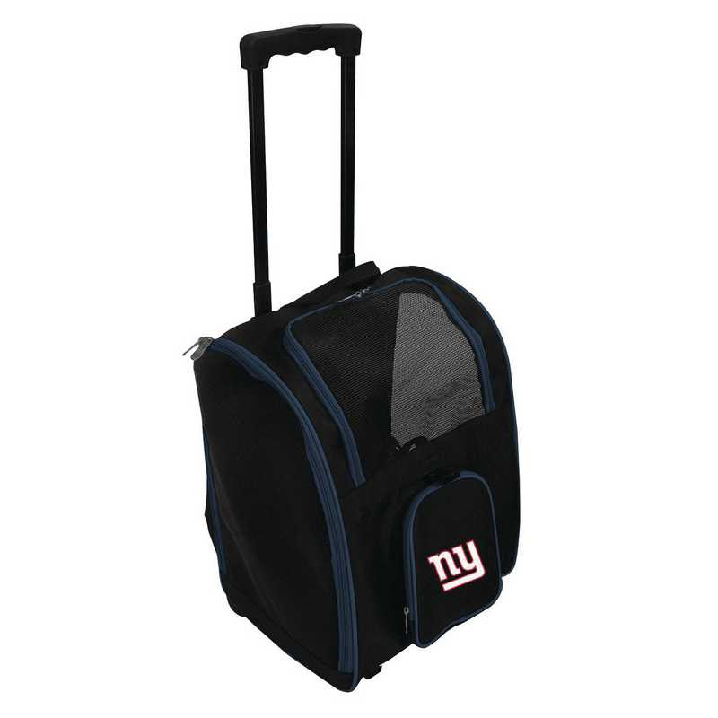 NFNGL902: NFL New York Giants Pet Carrier Premium bag W/ wheels