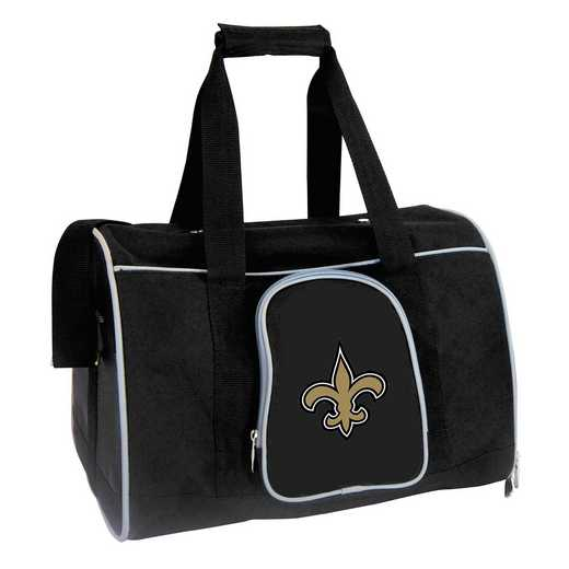 NFNSL901: NFL New Orleans Saints Pet Carrier Premium 16in bag