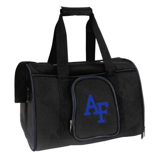 CLAFL901: NCAA Air Force Falcons Pet Carrier Premium 16in bag