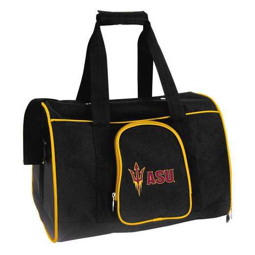 CLAZL901: NCAA Arizona State Sun Devils Pet Carrier Premium 16in bag