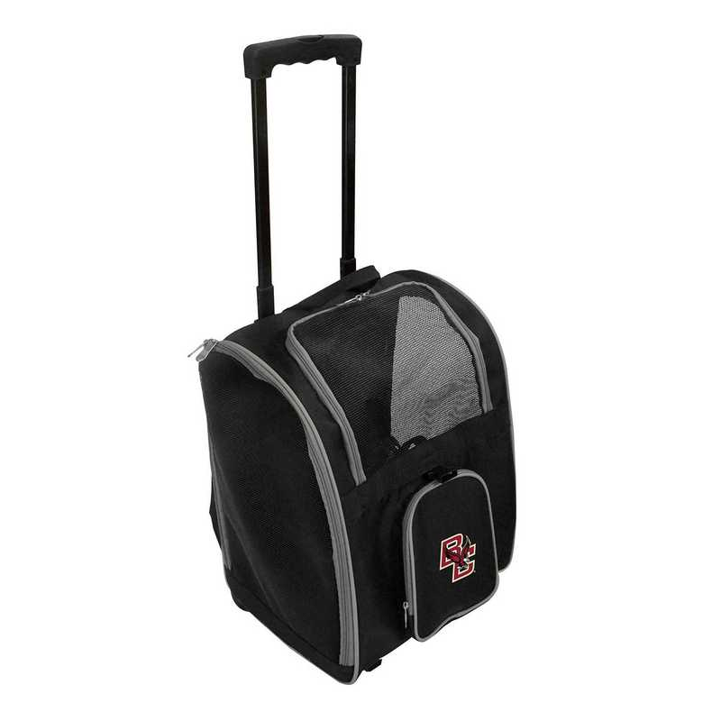 CLBCL902: NCAA Boston College Eagles Pet Carrier Premium bag W/wheels
