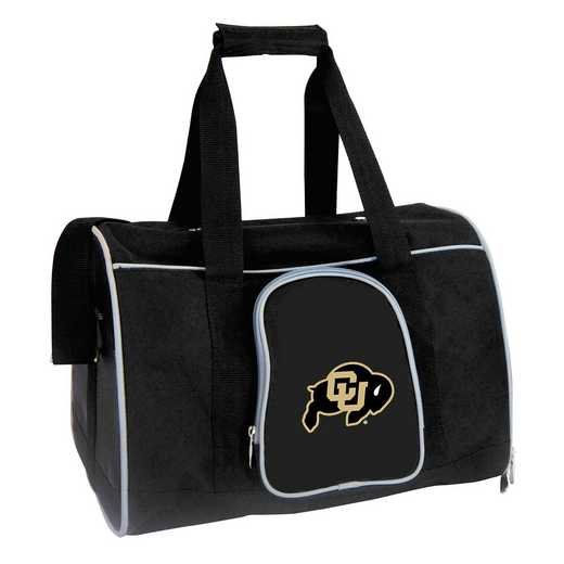 CLCOL901: NCAA Colorado Buffaloes Pet Carrier Premium 16in bag