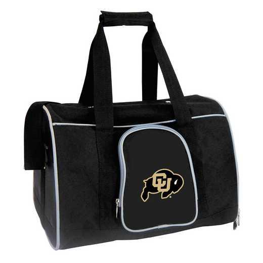 CLCOL901: NCAA Colorado Buffaloes Pet Carrier Premium 16in bag