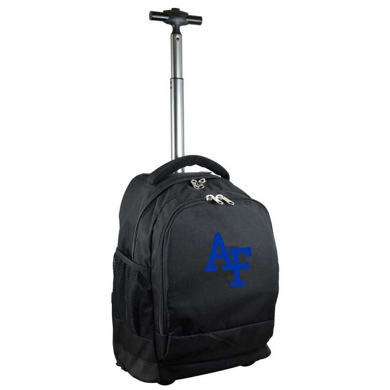 CLAFL780-BK: NCAA Air Force Falcons Wheeled Premium Backpack