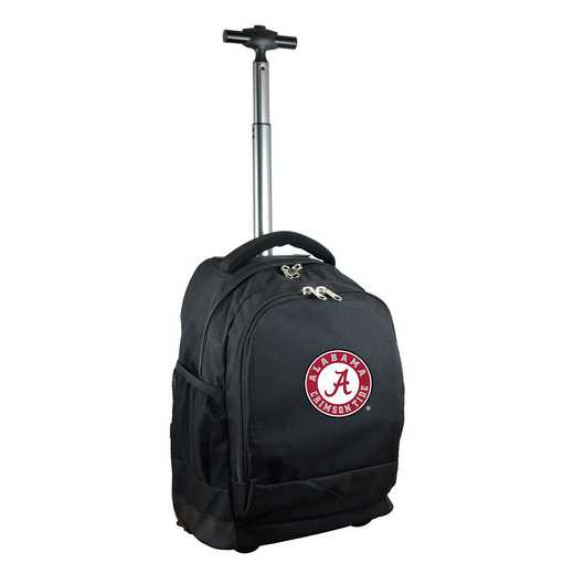 CLALL780-BK: NCAA Alabama Crimson Tide Wheeled Premium Backpack
