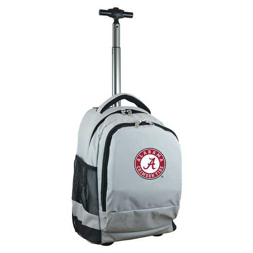 CLALL780-GY: NCAA Alabama Crimson Tide Wheeled Premium Backpack