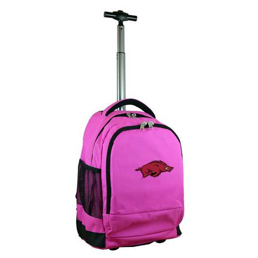 CLARL780-PK: NCAA Arkansas Razorbacks Wheeled Premium Backpack