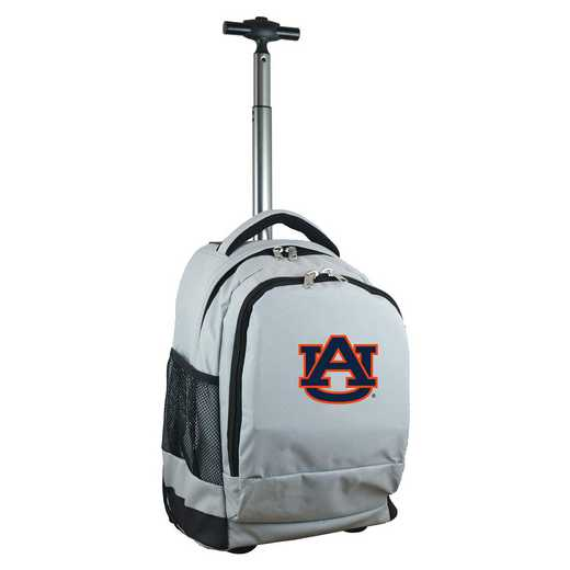 CLAUL780-GY: NCAA Auburn Tigers Wheeled Premium Backpack