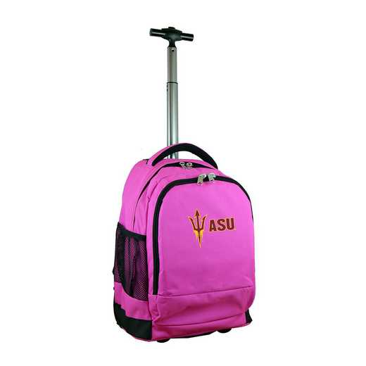 CLAZL780-PK: NCAA Arizona State Sun Devils Wheeled Premium Backpack