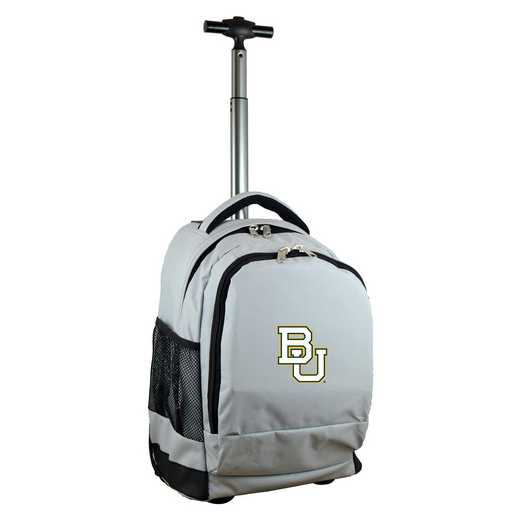 CLBAL780-GY: NCAA Baylor Bears Wheeled Premium Backpack