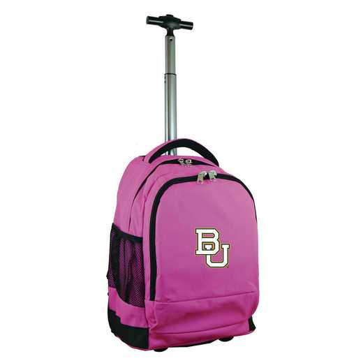 CLBAL780-PK: NCAA Baylor Bears Wheeled Premium Backpack