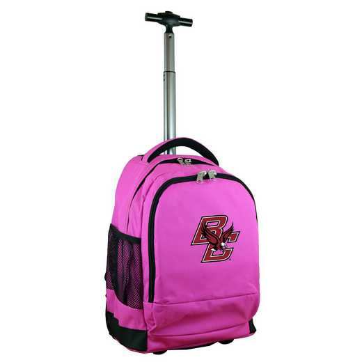 CLBCL780-PK: NCAA Boston College Eagles Wheeled Premium Backpack