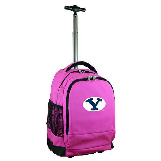 CLBYL780-PK: NCAA Brigham Young Cougars Wheeled Premium Backpack