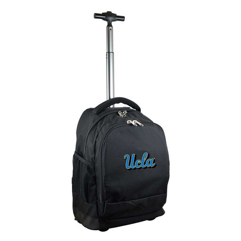 CLCAL780-BK: NCAA UCLA Bruins Wheeled Premium Backpack