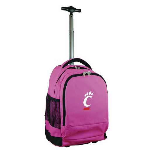 CLCIL780-PK: NCAA Cincinnati Bearcats Wheeled Premium Backpack