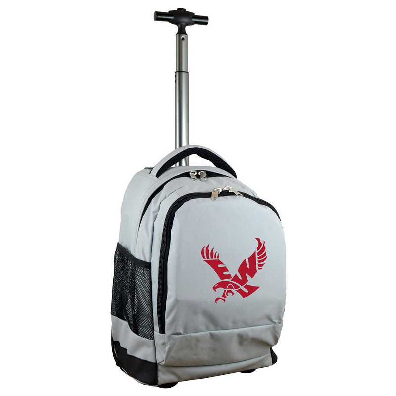 CLEWL780-GY: NCAA Eastern Washington Eagles Wheeled Premium Backpack