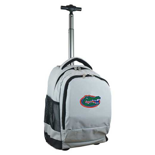 CLFLL780-GY: NCAA Florida Gators Wheeled Premium Backpack