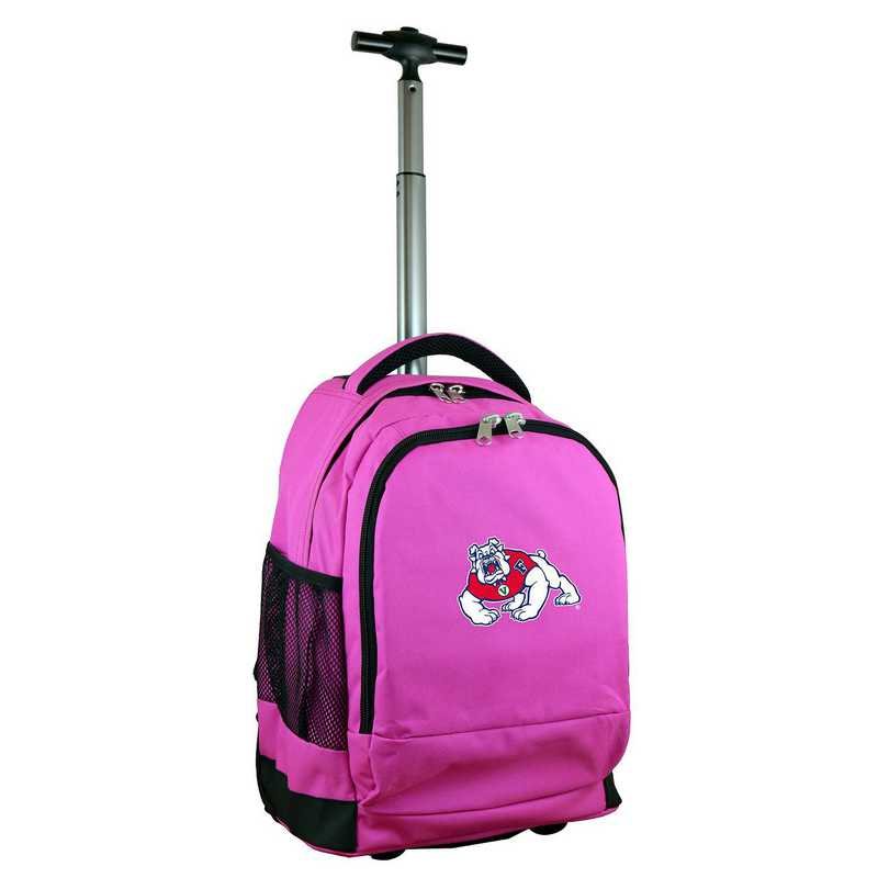 CLFRL780-PK: NCAA Fresno State Bulldogs Wheeled Premium Backpack