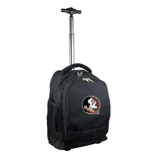 CLFSL780-BK: NCAA Florida State Seminoles Wheeled Premium Backpack