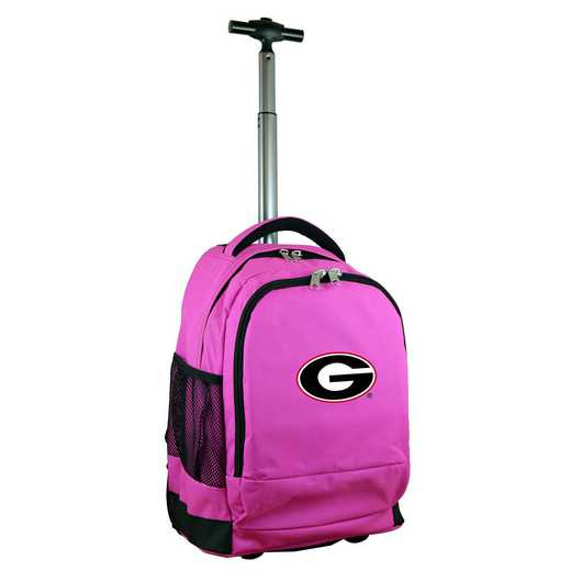 CLGAL780-PK: NCAA Georgia Bulldogs Wheeled Premium Backpack