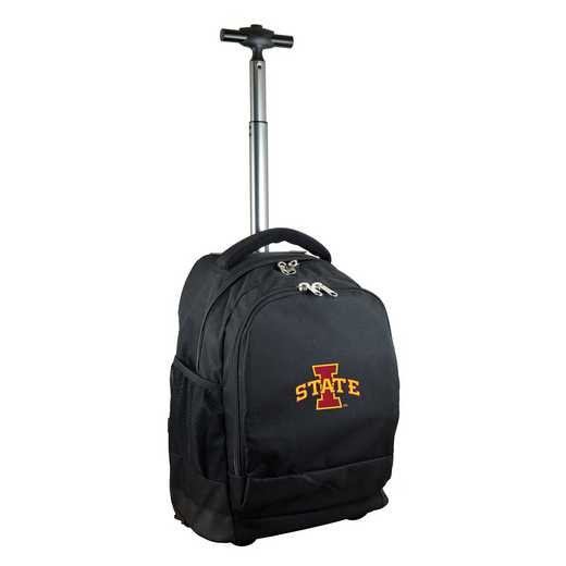 CLISL780-BK: NCAA Iowa State Cyclones Wheeled Premium Backpack