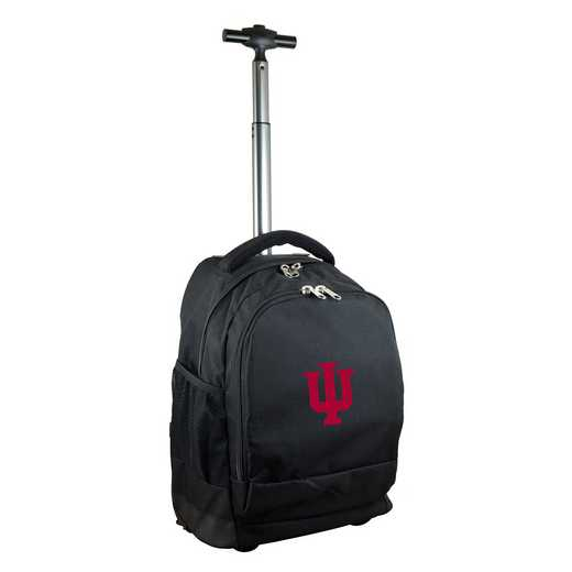 CLIUL780-BK: NCAA Indiana Hoosiers Wheeled Premium Backpack