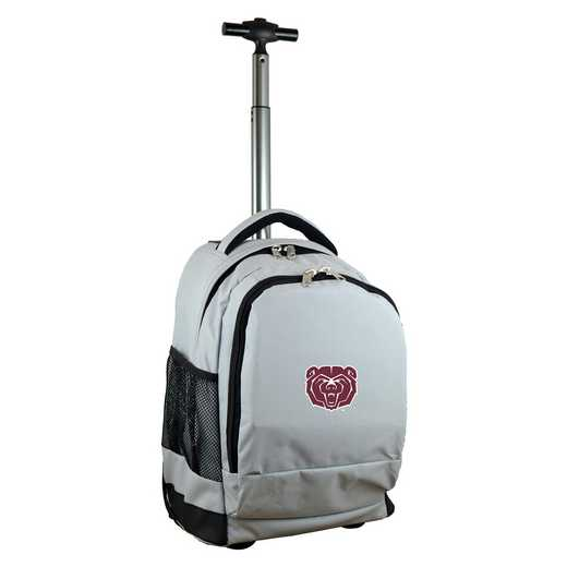 CLMBL780-GY: NCAA Missouri St University Bears Wheeled Premium Backpack