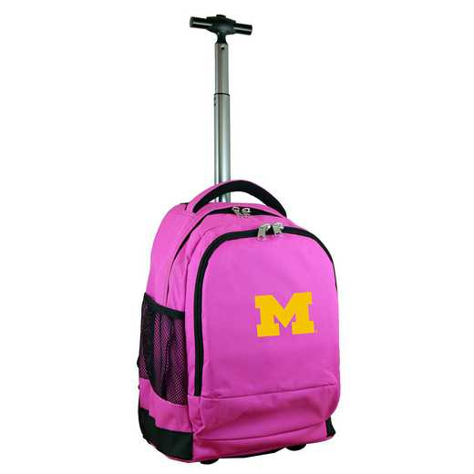 CLMCL780-PK: NCAA Michigan Wolverines Wheeled Premium Backpack